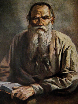 Illustration of Tolstoy in Stories