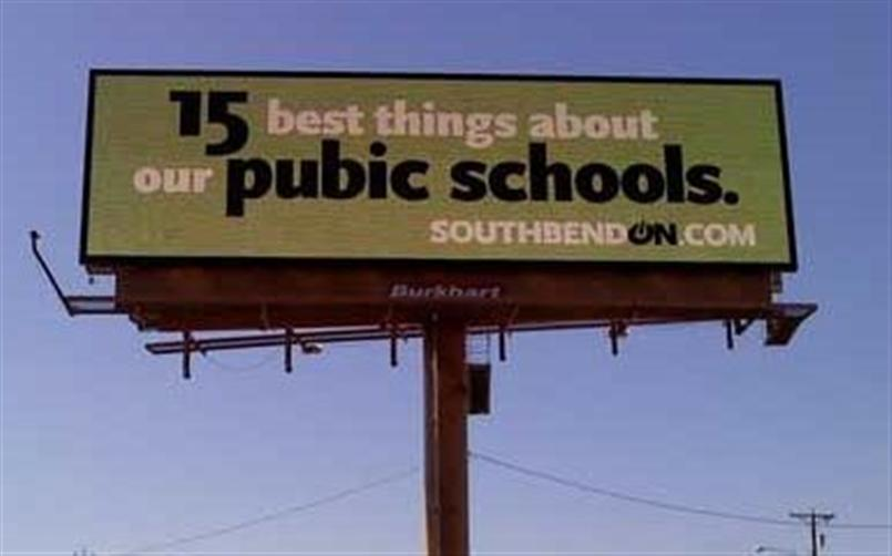 Bad Spelling Public School