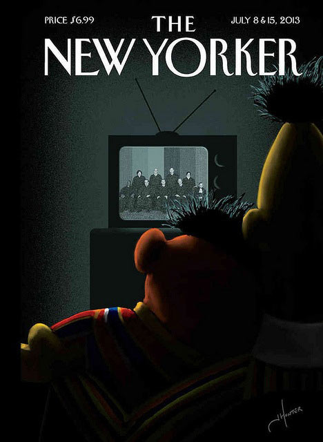 Cover of the New Yorker July 2013
