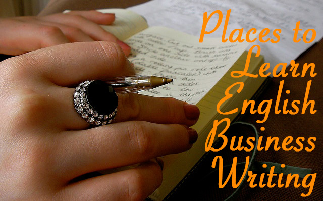 Places to Learn English Business Writing