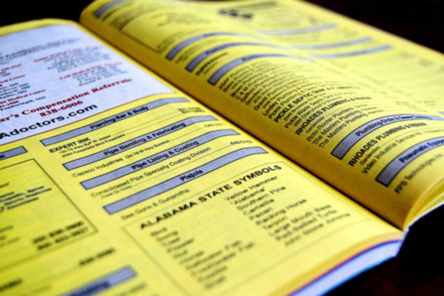 Yellow Pages Obsolete Phonebook