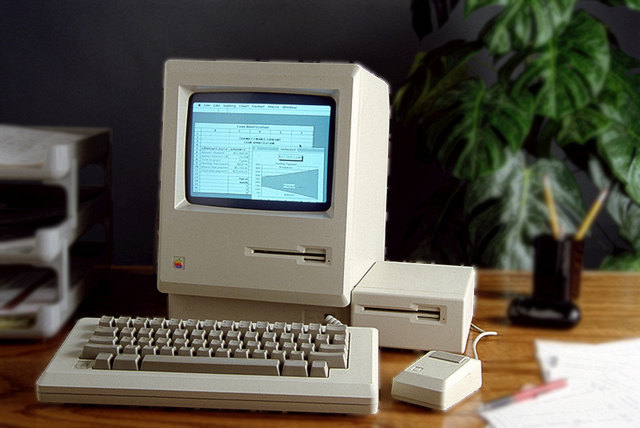 Apple Computer with excel 1.0 for Macintosh screenshot 1985