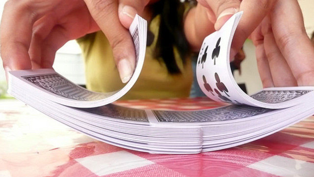 Shuffling Cards before Card Game