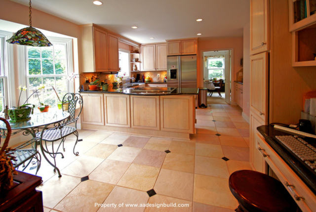 Custom remodeled kitchen home improvement