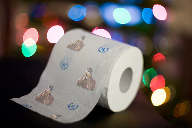 Personalized Toilet Paper for Holiday Gift