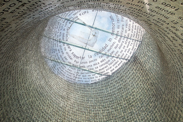 The Madrid Atocha Train Station Memorial remembering 11-M