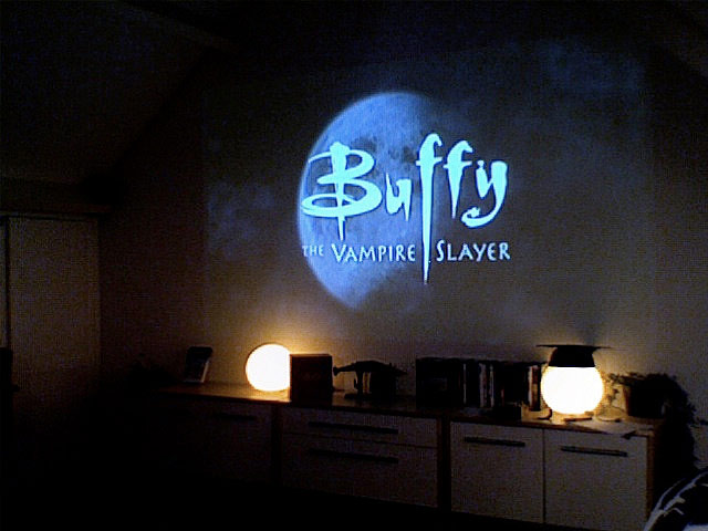 Buffy sign on the wall