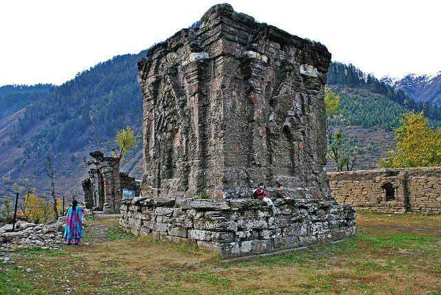 The ancient temple of Sree Sharada in Pakistan