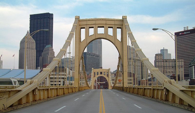 9th St Bridge, Pittsburg, Pennsylvania